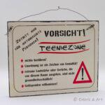 Holzbild Teeniezone