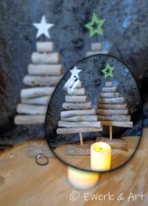 Treibholz Weihnachtsbaum klein