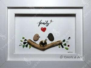 Kieselbild family Voegel Nest