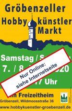 Hobbykünstlermarkt Gröbenzell 2020